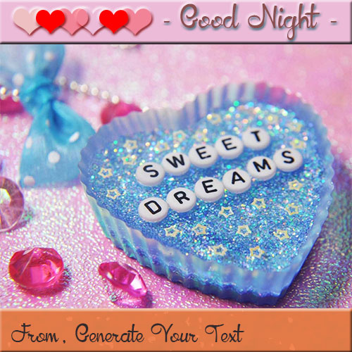 Create Good Night Love Picture With Your Name